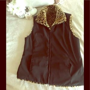 Kristen Blake Reversible Winter Vest